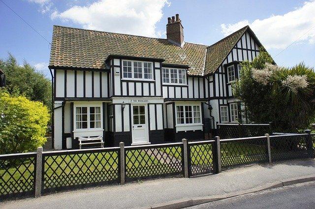 dům v Suffolku