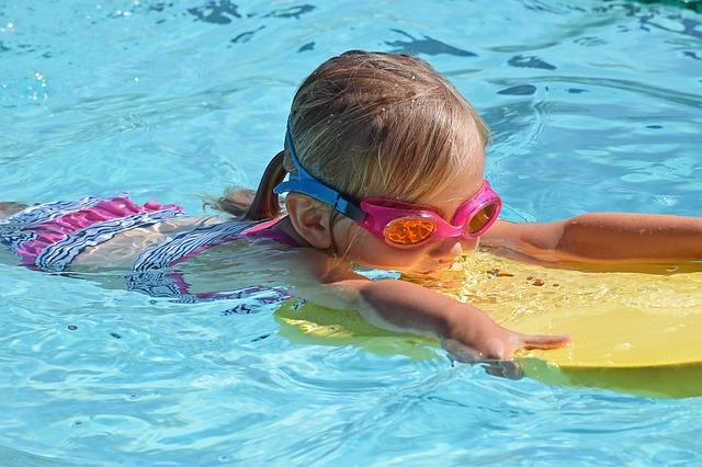 mladý plavec