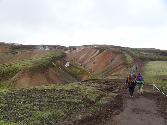 turisté na Islandu